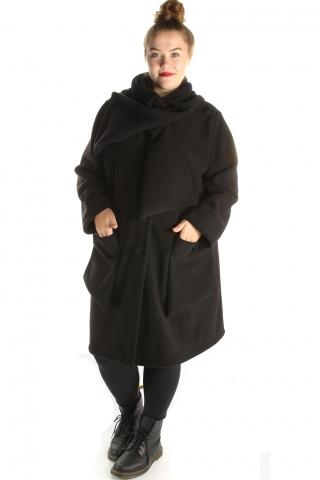 Jas Boris fleece strik hals Big | 1110Broodbig= 50-56