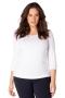 Grote maten Shirt lange mouwen Ace Yesta Basic | A4220A011X-0