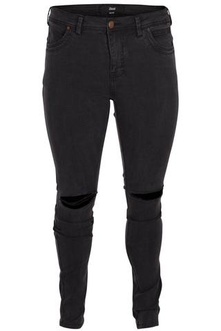 Grote maten Jeans MOLLY  Grey Denim Zizzi | J10576C101542