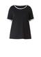Shirt Colletta witte hals zoom