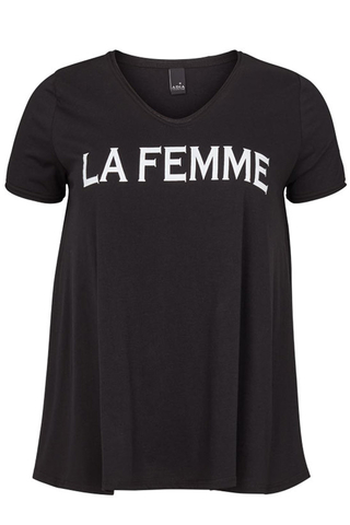 Shirt Adia tekst voorpand