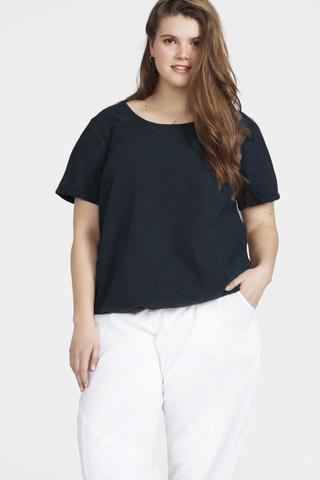 Shirt Zizzi Marrakesh elastieke zoom