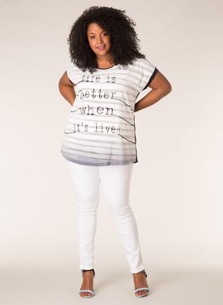 Shirt Ivy Bella tekst opdruk