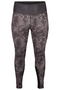 Sportlegging Zizzi HAWAII print