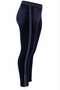 Legging Mat fashion velour zijrits