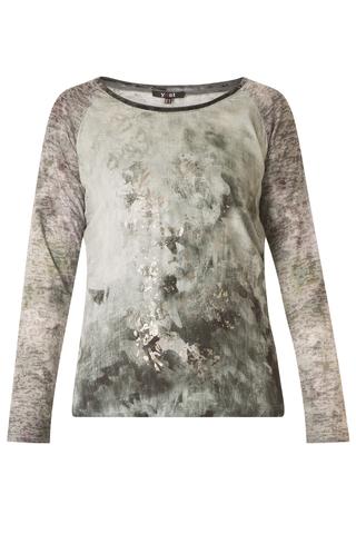 Shirt Yesta gemarmerd