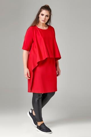 Jurk Mat fashion extra wijde flap