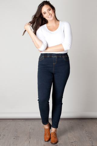 Grote maten Jeans broek Asmara Yesta | A24576A0461