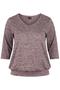 Sportshirt Zizzi FRANCISCO melee | A00014B1377s | Kleding | Zizzi active