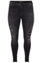 Grote maten Jeans Zizzi AMY destroyed look | J99757A019944