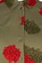 Jurk Zizzi MARIKKE doorknoop bloem