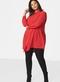 Jurk blouse Zizzi MYA asymmetrisch
