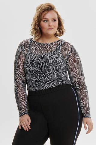 Shirt Only Carmakoma AUGUST zebra