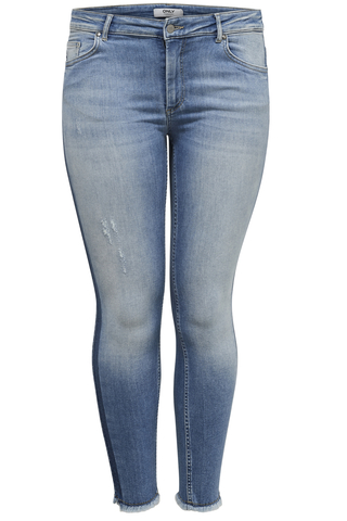 CARWILLY ANK RAW PANEL JEANS REA 18: