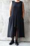 Grote maten Jurk Mat fashion wijd kort voor | 72017046BLACM=48-50