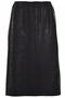 Grote maten Rok Gozzip Black leatherlook | G195211BlacXL=54/56