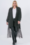 Vest Mat fashion voile onderkant