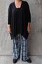 Vest Mat fashion wijd losvallend