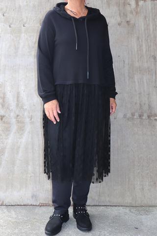 Trui Mat fashion kort voile onderkan