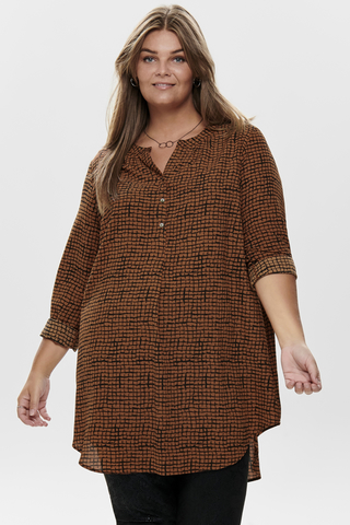 Grote maten Blouse LUX ANNA ONLY Carmkama | 15189155192846