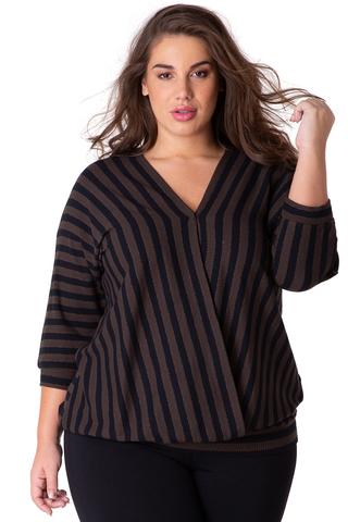 Grote maten Shirt Darina Yesta 76 CM | A32949BK20