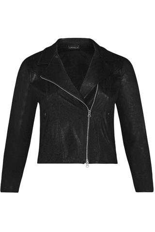 Grote maten Jasje Carmen Vintage leather Ophilia | Carmen 93Blac2=44