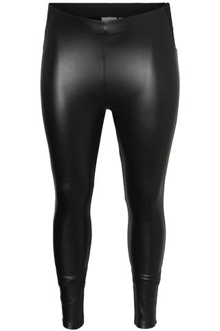 Grote maten Legging LIFA Junarose leatherlook | 21009956BlacS-40/42