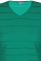 Grote maten Trui Zhenzi fijnbrei streep | 2608815BLAC/0900S=42-44
