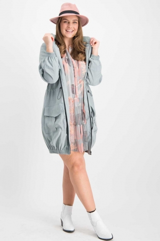 Grote maten Jas Parka Ophilia | Parka 20Red4=48-50