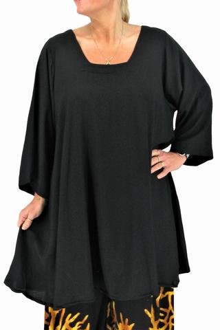 Tuniek Claire XL Luna Serena | Claire XLzwar/uni46-60 big