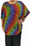 Grote maten Shirt Joyce Luna Serena | Joyce 1bord/roze42-48