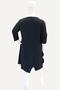 Grote maten Vest Rimini linnen tricot rits | 2S80802groe/zach6=52