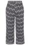 Grote maten Broek SHAY Zhenzi voile print | 2704196BLAC/0900M=46-48