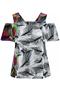 Grote maten Shirt Sempre Piu Off shoulder   S2858Pink52