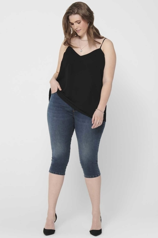 Grote maten Jeans AUGUSTA ONLY C 3/4 lang | 15205944179642