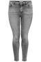 Grote maten Jeans WILLY ONLY C grey wash skinny | 15212252195342