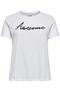 Grote maten Shirt NECK KISS ONLY C glans tekst | 152062601908XL-54