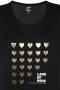 Grote maten Shirt Save Zhenzi tekst opdruk | 2808304arwa/6830XXL=58