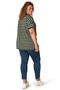Grote maten Shirt Yesta 76 cm streep korte mouw   A00008849505(58/60)