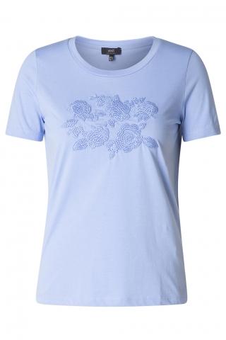 Grote maten Shirt Yesta bloemen borduur | A00014820352(50)