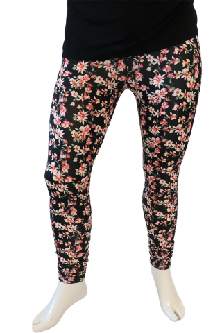 Legging Aya Zhenzi diverse prints | 2508976Blac/CombS=42-44