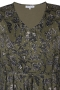 Grote maten Jurk Elni Zhenzi voile print ruche z | 2808850arwa/6830L=50-52