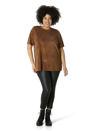 Shirt Ivy Bella velvet ribje | 001143P10000 (46)