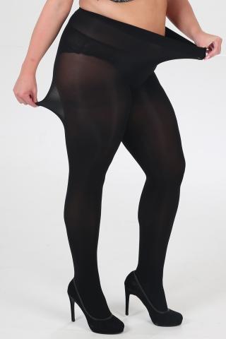 Panty 90 Den Curvy Pamela Mann | 31280003blac44-46(XL)