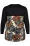 Shirt Studio uni boven print onder | S2058106auco/PrinS=42/44