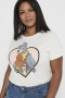 Shirt ONLY Carmakoma Disney | 15234326ecruM-46/48