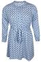 Jurk Zhenzi KULI blouse look stip | 21016650900M=46-48