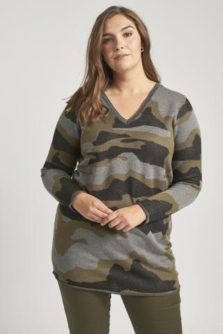 Trui Adia camouflage print | AD6007Camo/5818M=46-48