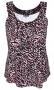 Zhenzi singlet Erie tricot print | 2103224pinkL=50-52