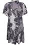Zhenzi jurk Moss A-lijn print | 2103257daolM=46-48